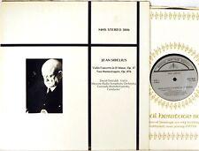 MHS-3846 Sibelius DAVID OISTRAKH Violin Concerto/Humoresques ROZHDESTVENSKY EX