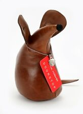 Genuine Leather Mouse Door Stop By Monica Richards London