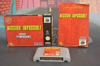 MISSION IMPOSSIBLE PAL ESP NINTENDO 64 N64 COMBINED SHIPPING