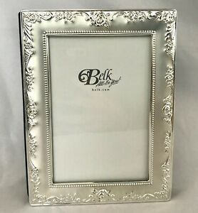 Belk Silver Wedding Photo Album 4x6 80 Photos 40 Pages NWOT Bridal Gift Roses