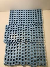 Rokenbok 1x7 Beam Connector Pieces Blue Teal (Lot Of 43)