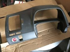 Used 06-11 Honda Civic gauge cluster dash trim bezel panel + engine start button