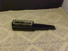 Manicure Set and Clothes Brush For Men 5 Tools Inside Vintage Handle Damaged