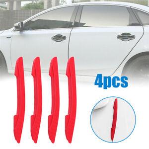 4x Door Edge Scratch Anti-collision Protector Guard Strips Trim Car Accessories