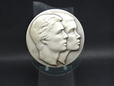Medaille Silber .950Hochzeit Henri-Maria Teresa Luxembourg 1981 Luxemburg (22418