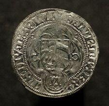 Rst. Nürnberg, 1/2 Schilling o.J. (1465-67), Kreuz über Adler