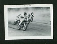 HONDA Flat Track Motorcycle Racing Team Vintage 1968 Photo 466173