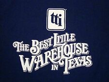 Vintage Best Little Warehouse in Texas TX TTI Electronics T Shirt L