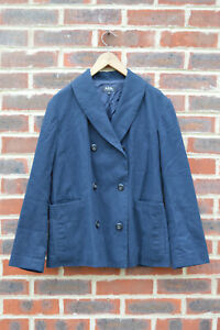 **STUNNING** A.P.C Ladies Lightweight Cotton Peacoat SMALL