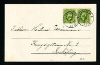 Sweden Stamps 1923 Postcard Mailman