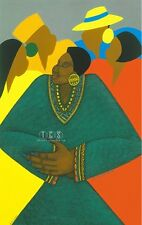 """Precious"" Ethnic Art Expressionism by Charles Bibbs and Synthia Saint James"