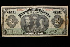 1911 Dominion of Canada. ($1) One Dollar. (#2)