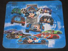 Walt Disney Daytona 500 Mickey Mouse And Friends  2004 Mouse Pad Race Cars