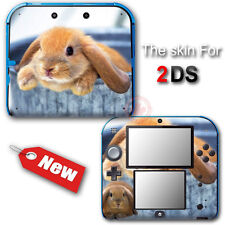 Rabbit Pet Cute NEW VINYL SKIN STICKER DECAL COVER for Nintendo 2DS