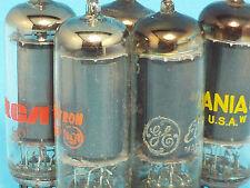 GE RCA SYLVANIA 6197 6CL6  VACUUM TUBE VARIOUS BRANDS QUANTITY  (1)