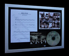 STONE SOUR Made Of Scars LIMITED Numbered CD QUALITY MUSIC FRAMED DISPLAY!!