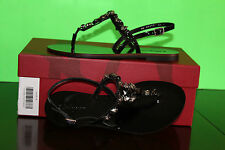 SALVATORE FERRAGAMO MY TRESOURE NERO PATENT #6.5us $395