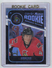 11-12 OPC Rainbow Black Roman Wick Rookie Card RC #565 080/100 Mint Rare