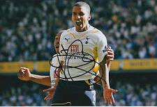 Aaron LENNON SIGNED Autograph 12x8 Photo AFTAL COA Tottenham SPURS RARE GENUINE