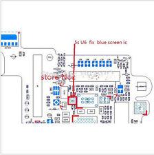 1PCS U6  0838 O838 IC  4pin for fix Blue Screen for iPhone 5S U6 /6 6plus U0301