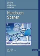 Handbuch Spanen von Günter Spur und Theodor Stöferle (2014, Set mit diversen Art