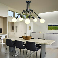 Flush Mount Ceiling Lights Black Pendant Light Kitchen Lamp Chandelier Lighting