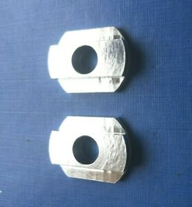 NOS OLD SCHOOL BMX REAR AXLE WASHERS 10MM DIA.FRAME PROTECTION, CHAIN TENSION