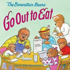 The Berenstain Bears Go Out to Eat-ExLibrary