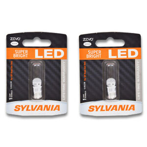 Sylvania ZEVO Front Side Marker Light Bulb for Chevrolet C20 K20 C20 Pickup gr