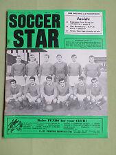 SOCCER STAR - UK FOOTBALL MAGAZINE - 3 FEB  1967 - ROTHERHAM UNITED