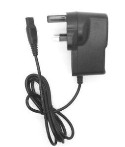 MAINS POWER CHARGER UK FOR SKULL SHAVER PITBULL SHAVER ELECTRIC RAZOR