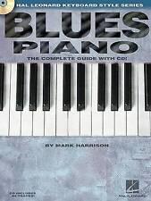 Blues Piano: Hal Leonard Keyboard Style Series (Keyboard Instruction) Bk/online