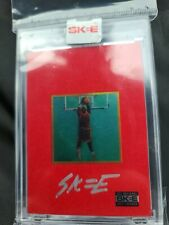 The National 2021, SIGNED DJ Skee Michael Jordan Card, I FEEL LIKE MIKE, /2021
