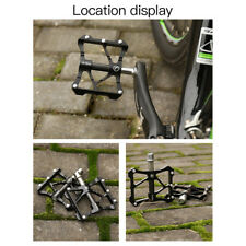 Wheel up Mountain Bike Bicycle Pedals MTB BMX DH Platform Pedals Black Pedals