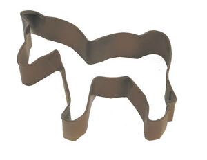 Eddingtons Brown Horse Cookie Cutter - Pastry and Biscuit Cutter Metal 9cm