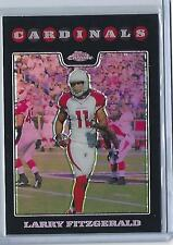 2008 Topps Chrome Larry Fitzgerald Refractor #86! (Cardinals) Look! Hot!