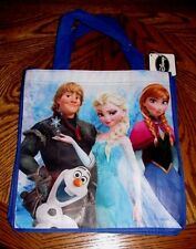 DISNEY FROZEN ANNA ELSA KRISTOFF OLAF Reusable Tote / Shopping Bag NWT