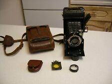 1937 Voigtlander Bessa Folding Camera & Case (2622)