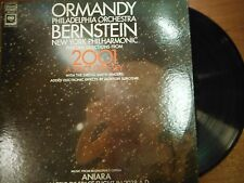 33 RPM Vinyl Ormandy Bernstein 2001 A Space Odessy Columbia Records 051215SM