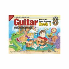 Progressive Guitar Method for Young Beginners Book 1 Songbook CD DVD -