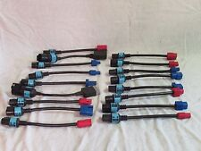 """Vintage Ford Rotunda SBDS cables/adapters/transducers 10"""" probes see list"""
