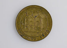 Spendenmarke Jeton 1 Mark Baufonds 1925 Der Kämpfer KPD