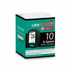 LifeSmart LS-946 Two Plus Ketone Test Strips - 10 Strips