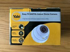 Yale Easy Fit 650TVL Indoor Dome Camera Night Vision White AC-100W *NEW BOXED* A