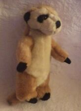 2000 Wildlife Artist Meerkat Conservation Collectible Plush Stuffed Animal 8""