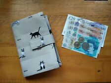 Cash Envelope Budgeting System Wallet. Sophie Allport Fabric!Handmade!