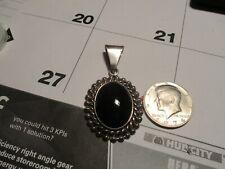 Old Pawn Onyx Pendant