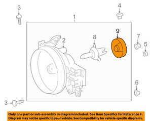 TOYOTA OEM-Headlight Headlamp Bulb Cap Cover 8113952010