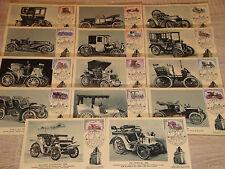 """Cartes Premier JOUR 1961 """"Automobile"""" MONACO"""