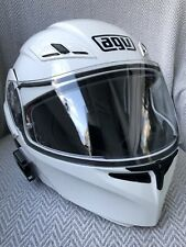 AGV Compact ST White Flip-Up Helmet, Pinlock, Size L, Perfect Condition